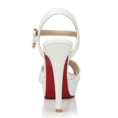 1TO9, Sandali donna Bianco