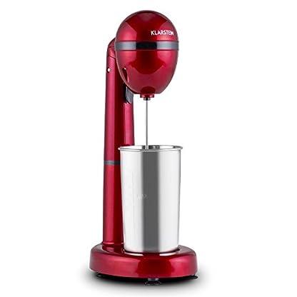 Klarstein-van-Damme-Drink-Mixer-Shaker-100W-450-ml-Edelstahl-Mixbecher-silber
