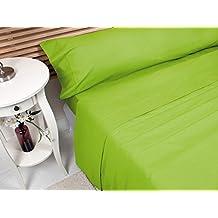 MB - Sábana Bajera Ajustable Actual Verde - Cama 150x190/200 cm
