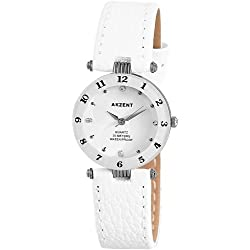 Akzent Damen-Uhren mit Polyurethan Lederband SS7322000014