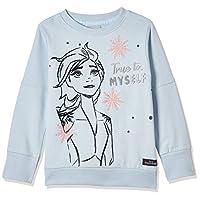 Disney Girl's Frozen Sweat Top, Blue, 3 - 4 Years
