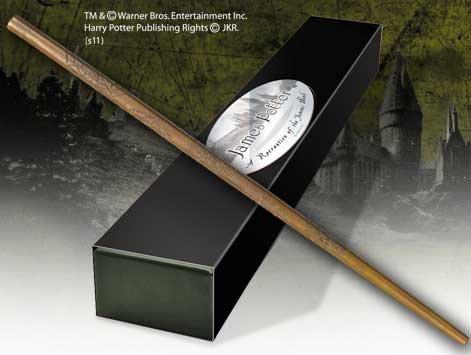 Preisvergleich Produktbild Harry Potter Zauberstab James Potter