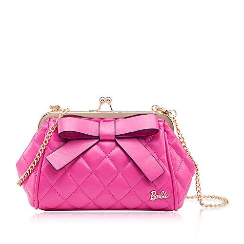 barbie-neu-leder-handtasche-umhngetasche-schultertasche-messenger-bag-damen-bbfb141-rosa
