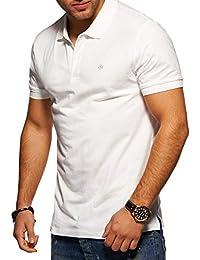 a5bc625130240 JACK   JONES Polo para Hombre Camiseta Camisa Manga Corta Unicolor