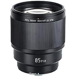 VILTROX Objectif 85 mm F1.8 pour Appareil Photo Reflex numérique Fujifilm X-Mount X-T3 X-H1 X20 X-T30 X-T20 X-T100 X-Pro2 Compatible avec Auto Iris/EXIF