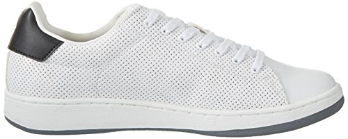 Lotto Sport 1973 V Micro, Sneakers Basses Homme Blanc (Wht/blk)