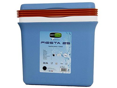 Giostyle frigo termico fiesta lt25 accessori per il tempo libero