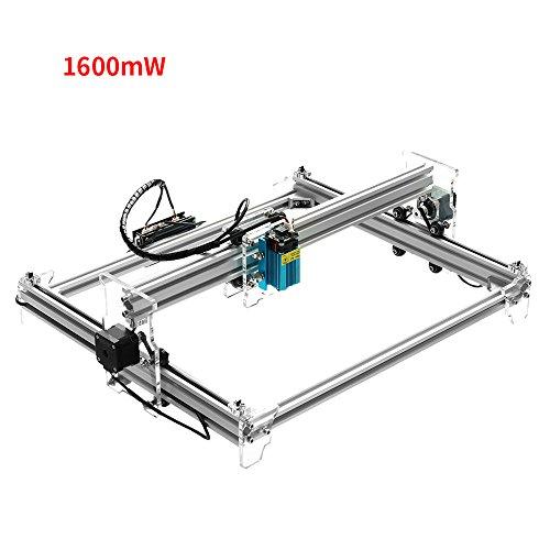 KKmoon A3 Pro 500mW Desktop Mini USB Laser Graviermaschine Lasergravierer Engraving Carving Maschine Gravur Schnitzmaschine DIY Laserdrucker mit Schutzbrille (Holz-laser-gravur-maschine)