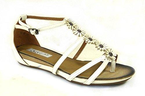 SKO'S , Sandales pour femme White (OV10)