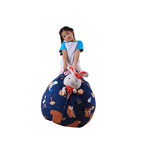 Quner Fagioli Aufbewahrungsbeutel für Kinder, 36-38 Zoll (36-38 Zoll), Modell veglio aus der Schale für Kinder, Snuggling Lounging No2 Medium