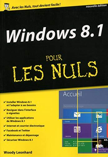 Windows 8.1 pour les Nuls MégaPoche par Woody LEONHARD