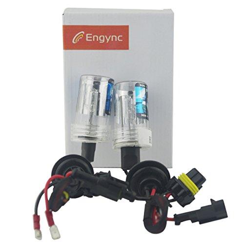 Preisvergleich Produktbild Engync 2x 75W HID Xenon Licht Ersatzlampe Scheinwerfer -H4 (HB2) (9003) Lo / Hi Halogen-5000K-3 Jahre Garantie