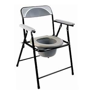 Chargement Portable Chaise Toilette Pliable Eccom1 Incontinence Dessus De Nouveau Avec Pot Legere Deisgn Economique Handicape Percee uK3Tl1JcF