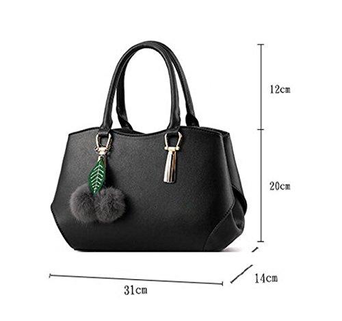 Handtaschen Elegante Handtaschenschulter Kurierbeutelart Und Weisefreizeit Grey
