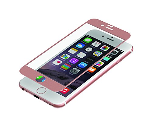 invisibleSHIELD Glass Luxe Full Screen für iPhone 6, rose gold