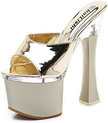 XiaoGao ultra high heeled dura sandali sandali sandali di pelle, signore 18 20 cm,oroen B07D5VQKGR Parent | Di Prima Qualità  | Online Shop  d29482