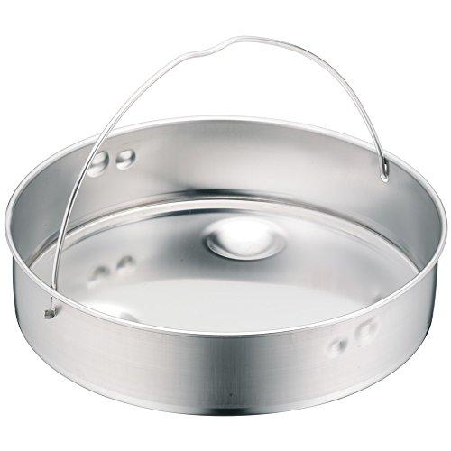 WMF Schnellkochtopf-Zubehör, Dampfer-Einsatz 5,8 cm, ungelocht, für Schnellkochtopfe, 20 cm, Cromargan Edelstahl, spülmaschinengeeignet