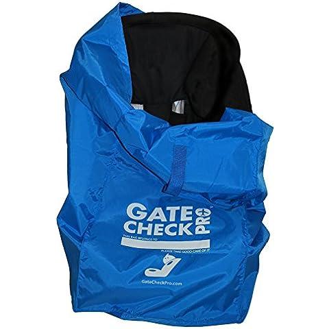 Gate Check Pro | Bolso de viaje para silla de coche | Nailon balístico ultrarresistente | Talla única | Perfecto para modelos Grupo 0-3, Alzadores incluido | Calidad imerjorable de la marca