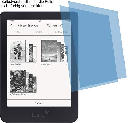 2x ANTIREFLEX matt Schutzfolie für Tolino Shine 3, 3HD, Shine 2 HD, Page Premium Displayschutzfolie Bildschirmschutzfolie Display Schutz Glas Schutzhülle Displayschutz Displayfolie Folie