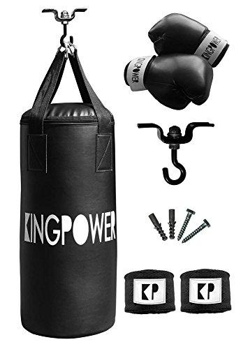 Auswahl Boxzubehör Boxset Boxsack Boxhandschuhe Bandagen Boxen Set Kingpower (Boxset 01)