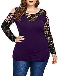 c685a6f85d Amazon.it: casacca donna - 4XL / Bluse e camicie / T-shirt, top e ...