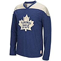 Reebok CCM NHL TORONTO MAPLE LEAFS Team Classics Crew Jersey Long Sleeve Sweatshirt NEU/OVP