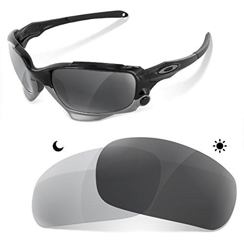 Sunglasses Restorer Lentes Fotocromatica Polarizadas Gris de Recambio para Oakley Jawbone