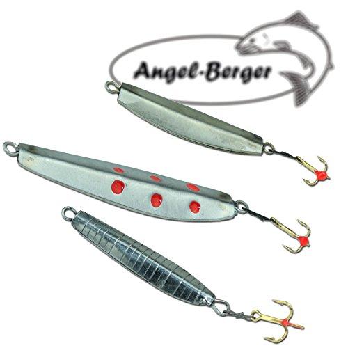 Angel Berger Zockersortiment Eis Blinker 3 Stück