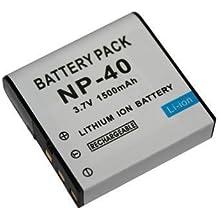 Maxsimafoto®–Batteria ricaricabile compatibile per Casio, Kodak, Ricoh, Pentax XG-1, lb-060, CNP40.