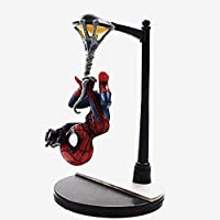 SMAQZ 14cm Q Figure Spiderman Toy Superhero Spiderman Photo Model Doll Decoration