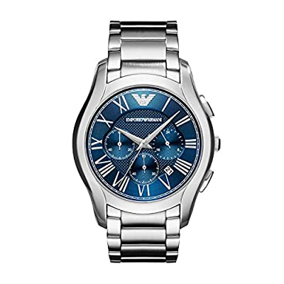 Emporio Armani Chronograph Dress Silver Stainless Steel Men's Watch AR11082