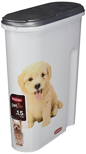 Curver 03903-P81-00 Pet-Futter Container 25 x 10.5 x 30.5 cm, 1.5 kg - 2