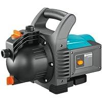 GARDENA Pompe d'arrosage de surface 3500/4 Classic: pompe d'arrosage pour usage extérieur, avec débit de 3600 l/h, moteur de 800 W, vis de vidange, sans entretien, double étanchéité (1709-20)