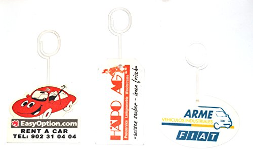 Preisvergleich Produktbild 1000 Lufterfrischer mit Ihrem Namen Private Label Firmenaufdruck - das duftige Give away für viele Anlässe