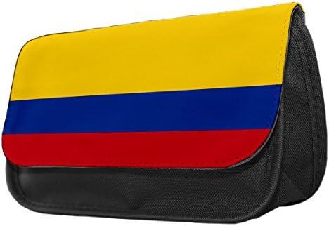 Drapeau de la Colombie Trousse Sac de maquillage/045 B01LOBM2OU | | | Moins Cher  a0cbb3