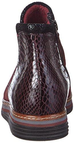 Tamaris - 25055, Stivaletti Donna Multicolore (Mehrfarbig (Bordeaux 549))