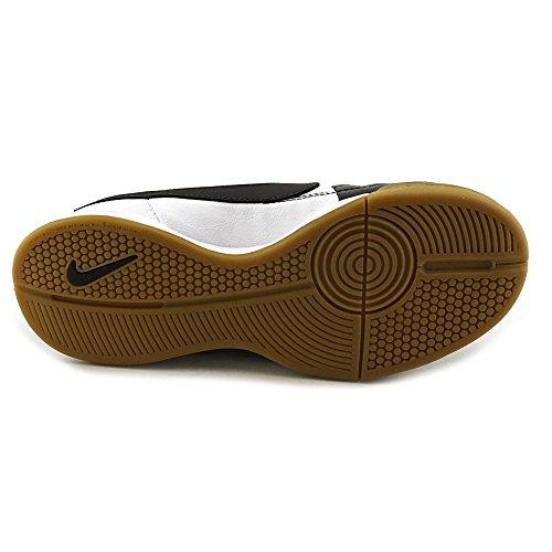 Nike - Jr. Tiempo Genio Leather Ic, Scarpe Da Calcio infantile (negro - bianco)