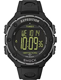 Timex Herren-Armbanduhr Expedition Shock XL Vibrating Digital Quarz Plastik T49950