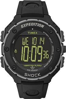 Timex Expedition Shock XL - Reloj análogico de cuarzo con correa de resina para hombre, color negro (B00CYZO6RW)   Amazon price tracker / tracking, Amazon price history charts, Amazon price watches, Amazon price drop alerts