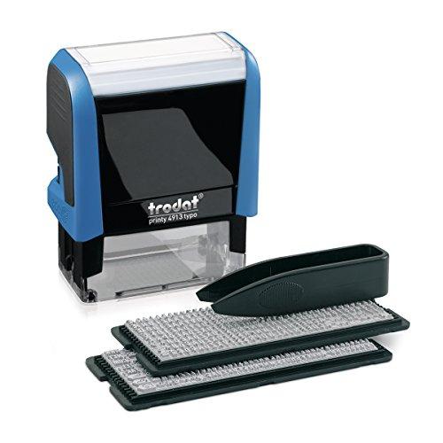 Timbri per autocomposizione The New Printy Typo 4913-58x22 mm - 5-43146