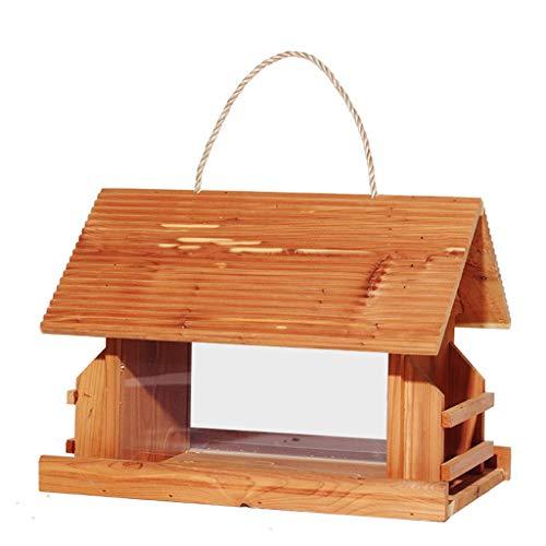 JXXDDQ La mangeoire à Oiseaux Sauvage de Station de Nourriture, la mangeoire à Oiseaux de Jardin Contient la Graine mélangée ou de Chardon
