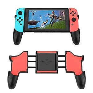 Griffe für Nintendo Switch,E-More Nintendo Switch Joy-Con Grip Gamepad Controller Schutzhülle Griff Kits für Nintendo…