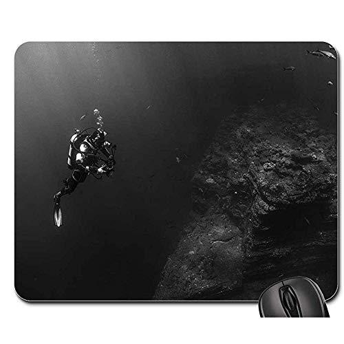 Spielmatte Taucher Taucher Tauchen Unterwasser Wasser Meer Mauspad Mousepad Mauspads Mausmatte Spielmatte 25X30cm -