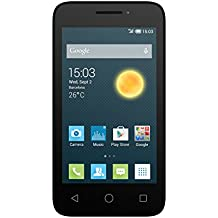 "Alcatel Onetouch Pixi 3 - Smartphone libre Android (pantalla 4"", cámara 3 Mp, 4 GB, Dual-Core 1 GHz, 512 MB RAM), blanco"