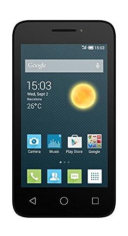 Alcatel Pixi 3 smartphone débloqué 3G+ (Ecran : 4 pouces - 4 Go - 512 Mo RAM - Android KitKat 4.0)