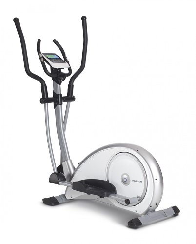 Horizon Fitness Crosstrainer Syros Pro, weiß/Silber, 100690 -