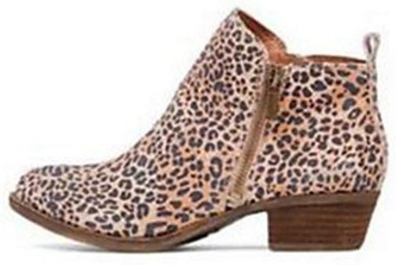 RTRY Zapatos De Mujer De Cuero De Nubuck Novedad Moda Otoño Invierno Confort Botas Botas Bota De Tacón Plano Señaló...