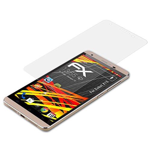 atFolix Schutzfolie kompatibel mit Cubot X15 Bildschirmschutzfolie, HD-Entspiegelung FX Folie (3X)