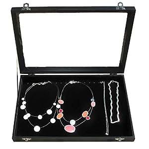 Coffre pour collier 20 Porte de collier Coffre de bijoux Coffre de bague