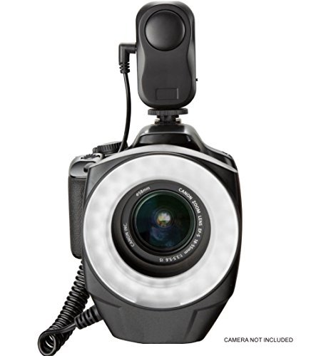 Samsung Galaxy NX Dual Macro LED Ring Light / Flash (Includes Necessary Adapters/Rings For Mounting On All Samsung Lenses)  available at amazon for Rs.13800